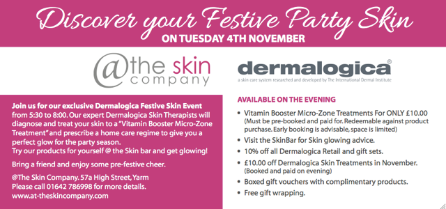 Discover your Festive Party Skin
