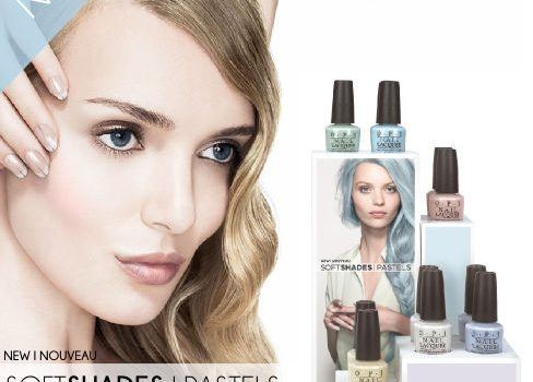 New Soft Shades/Pastels from OPI