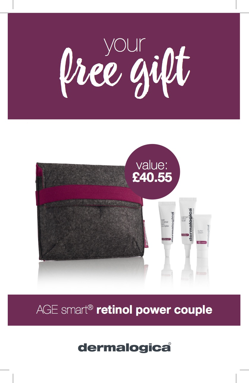 Age Smart with our retinol power couple gift with purchase