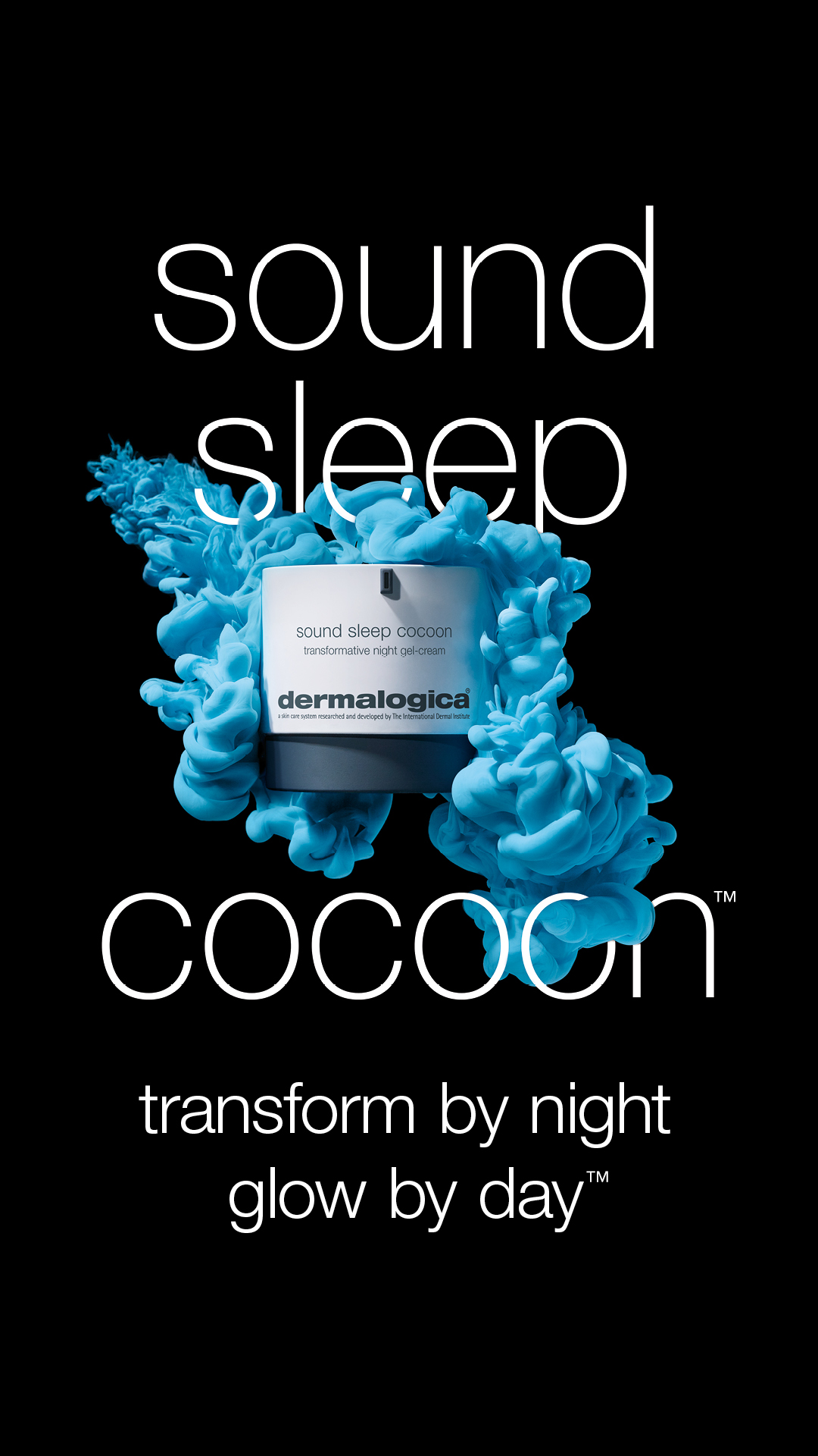 Coming soon sound sleep cocoon from Dermalogica.