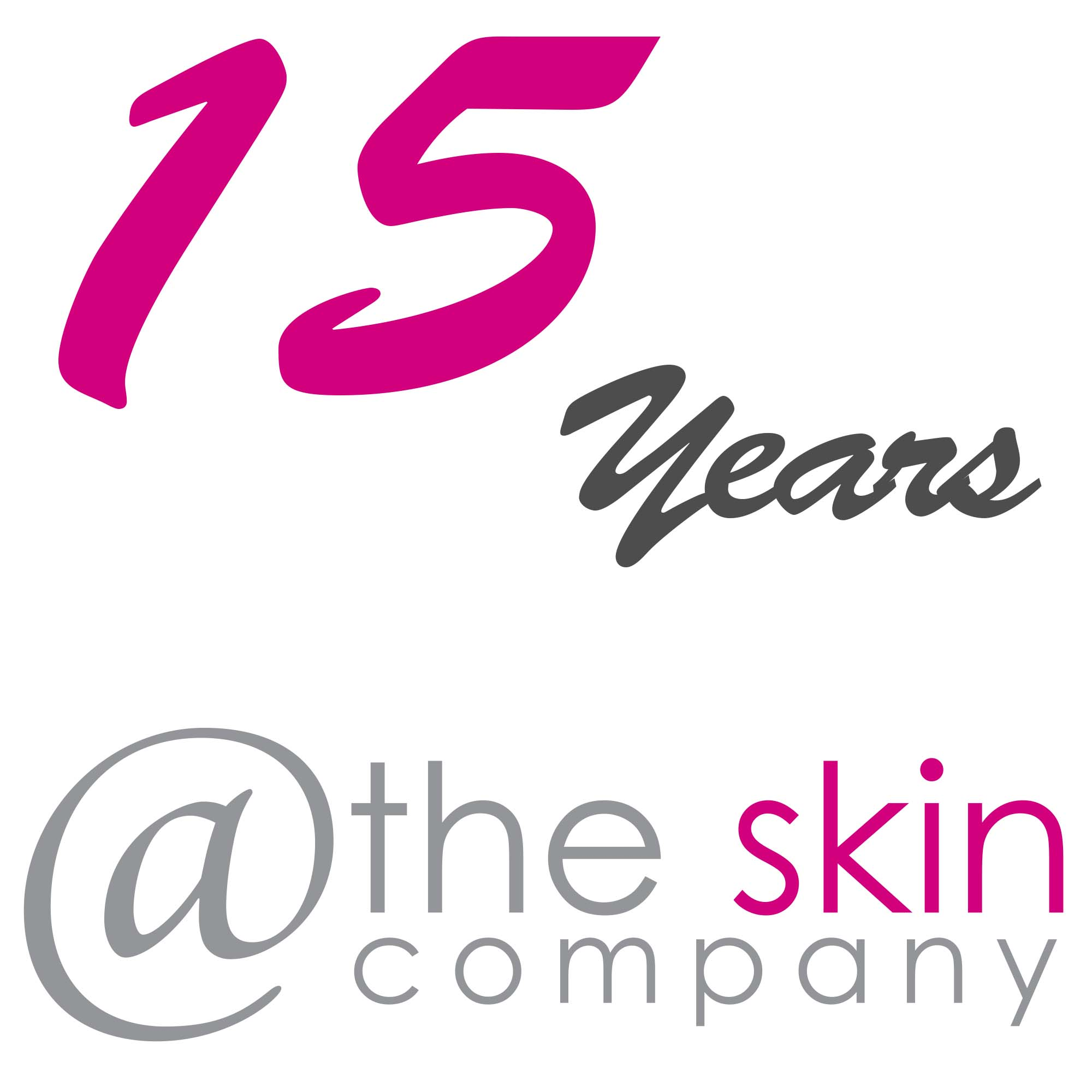 Join us to celebrate 15 years @ The Skin Company