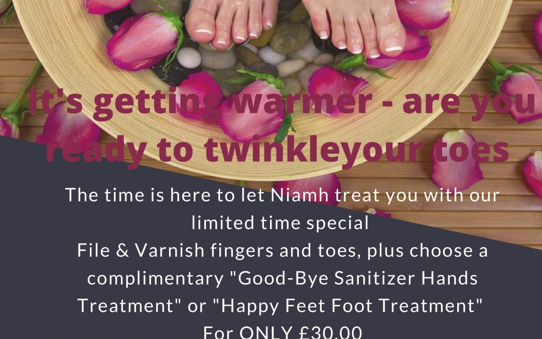 Are your fingers and toes ready into Twinkle?